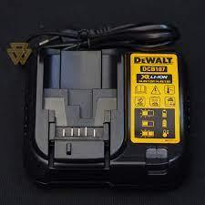 Bộ Sạc Pin Chậm Lithium 10.8-18V Dewalt DCB107-B1