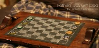 Homemade Wooden Board Games Fathers Day Homemade Gift Idea Parties for Pennies 98