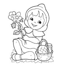 Mooie Roodkapje Kleurplaten Leuk Voor Kids