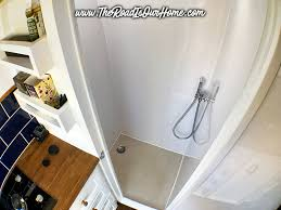 as we were going to the effort of building a dedicated room it made sense to make the most of it and install a shower too