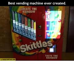 Create The Rainbow Skittles Vending Machine Stunning Best Vending Machine Ever Created CREATE THE RAINBOW Skittles TASTE