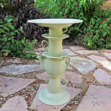 finding little tea pots and tea cups is actually an inexpensive task at most thrift s so if you like the look of this diy bird bath then you might