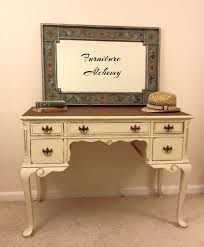 french country vintage desk or vanity painted by furniturealchemy shabby chic vanity painted vanity chic shabby french style distressed white