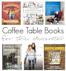 coffee table books for the decorator