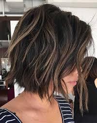 short brown hair highlights 14