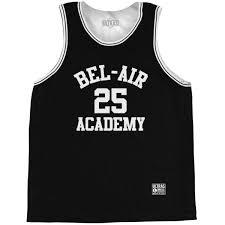 Basketball 25 Banks Academy Bel-air Jersey Practice Singlet