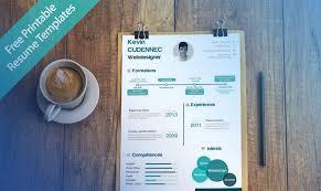 excellent resume templates free 40 best 2018s creative resume cv templates printable doc