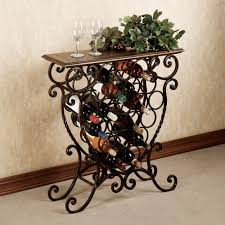 wine rack table. Wonderful Table Benedetto Wine Rack Table  Would Fit Perfectly At The Top Of My Steps For