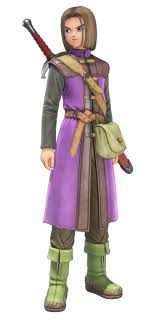 Dragon Quest Design Hero From Dragon Quest Xi Echoes Of An Elusive Age Art