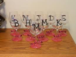 i was able to make the wine glasses for 2 56 each and the shot glasses for 78 and that includes the paint and paint brushes i still have plenty of paint
