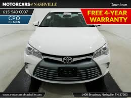 2017 Used Toyota Camry LE Automatic at MotorCars Of Nashville ...