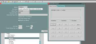 Fixed Asset Depreciation Calculator Oracle Apps Functional Creating The Custom Depreciation Method In