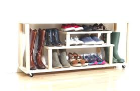 ... Front Door Shoe Rack Awesome Diy Shoe Rack For The Entryway Or Mudroom  ...