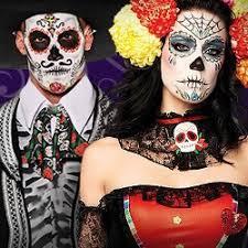 dia de los muertos party kostüme