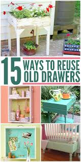 repurpose old furniture. Beautiful Ways To Transform An Old Dresser Drawer Into A Unique (and Useful) Piece Of Furniture. Repurpose Furniture K