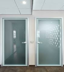 office door texture. for example, you can control the whole office from meeting room using an ipad built into wooden wall panels. relevance of interior is stressed door texture i