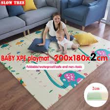 1-1.8cm Thickness <b>Baby</b> Playmat <b>XPE Baby</b> Carpet Floor Mats Play ...