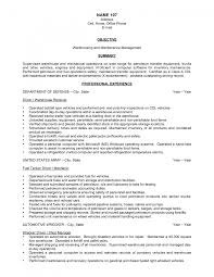 resume template resume objective warehouse resume objective resume gallery photos of warehouse manager resume examples