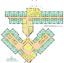 Floor Plans U0026 Pricing  1 U0026 2 Bedroom Options  Park SummitAssisted Living Floor Plan