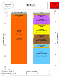 Prudential Hall Seating Chart General Information For The May 21 2019 Undergraduate