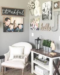 DIY Farmhouse Living Room Wall Decor And Design Ideas Wall - Decorating livingroom