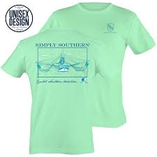 Simply Southern Size Chart Details About Simply Southern Coastal Southern Tradition Shrimp Boat Unisex Cotton Tee Shirt
