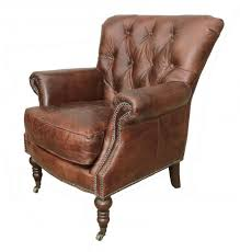 home lauren tufted leather club chair zoom