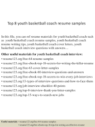 Cover Letter For Basketball Coaching Position Basketball Coaching Resumes Magdalene Project Org
