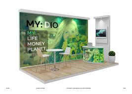 Trade Show Booth Designers Modern Elegant Environment Trade Show Booth Design For A