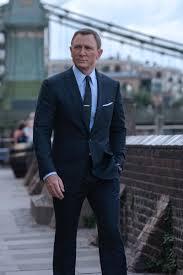 Daniel Craig as James Bond in <b>Tom Ford</b> Suits 'No Time to <b>Die</b>'