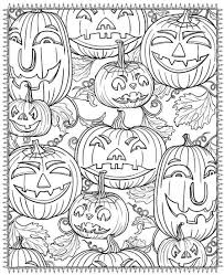The cutest halloween printable pictures. Printable Halloween Coloring Pages For Adults Popsugar Smart Living