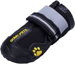 Qumy Dog Boots Size Chart Qumy Dog Boots Waterproof Shoes For Large Dogs With