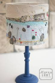 st ives lampshade hand embroidered lampshade from marnalunt co uk