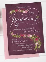 Wedding Invitations Templates Purple 16 Printable Wedding Invitation Templates You Can Diy