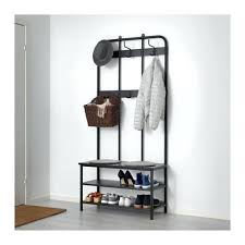 Hemnes Coat Rack Inspiration Pinnig Coat Rack With Shoe Storage Bench Black 32 Cm Ikea Shoe