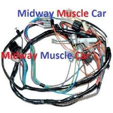chevy electrical wiring harness midway muscle car dash wiring harness 57 chevy 150 210 bel air nomad deluxe w o radio