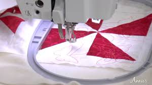 Learn Edge-to-Edge Quilting With Your Embroidery Machine - an ... & Learn Edge-to-Edge Quilting With Your Embroidery Machine - an Annie's Video  Class Adamdwight.com