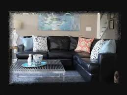 Attractive Black Couch Living Room Ideas   YouTube Pictures