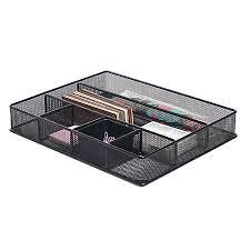 office drawer dividers. Brenton Studio Metro Mesh Large Drawer Office Dividers