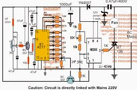 remote controlled ceiling fan regulator circuit