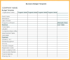 Sales Budgets Templates Sales Budget Template Excel Forecast Sample Example Budgets