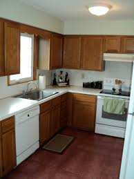Oak Color Paint How To Paint White For Kitchen Color Ideas With Oak Cabinets