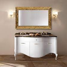 Mia Italia 63 Prestige 03 Double Bathroom Vanity Color Glossy White
