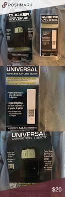 clicker universal garage door openerGarage Doors  53 Archaicawful Clicker Universal Garage Door