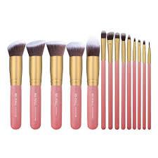 makeup kit for teenage girls. 14 pink makeup brush set under $15 (stocking stuffers for teenage girls) kit girls e