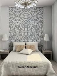 Bed headboards : ideas to make a DIY headboard with wallpaper