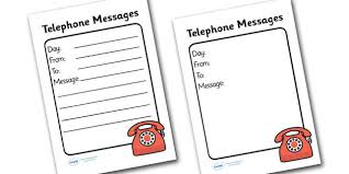 Phone Message Log Book Phone Message Book Template Magdalene Project Org