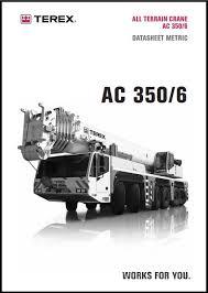 Terex Demag Ac 350 6 Chart
