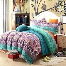 boho bedding sets queen bedding sets full size bed comforter set teal purple and black stripe boho bedding sets queen