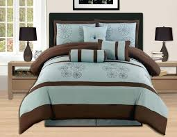 teal and brown bedding king size sets blue comforter bedrooms dreaded pictures uk